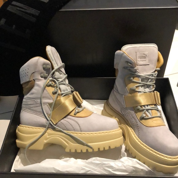 0eddc67dbf2 fenty puma winter boot tan